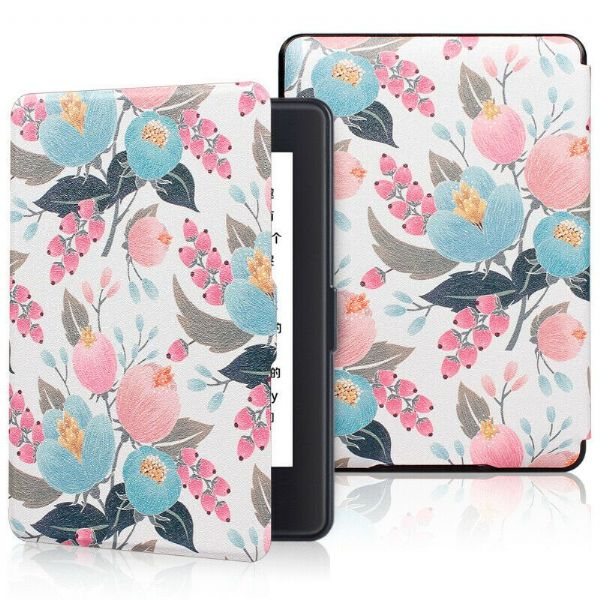 Kindle Paperwhite Smart Case Lychee Flowers